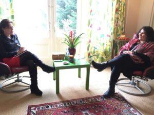 مصاحبه با مجله فرهنگی اجتماعی ایرانیا  شماره چهارم جولای ۲۰۱۶